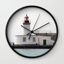 Ibiza's lighthouse Wall Clock