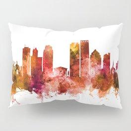 Dayton Ohio Skyline Pillow Sham