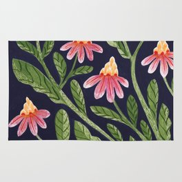 The Red Flowers Rug