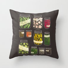 Pickled Throw Pillow
