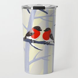 Couple in red Travel Mug