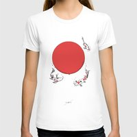 sun T-shirts featuring Koi and Sun by Huebucket