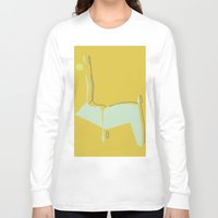 woodland Long Sleeve T-shirts featuring Woodland by Michelle Soto