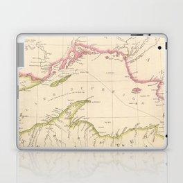 Vintage Map of Lake Superior (1832) Laptop & iPad Skin