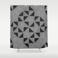 gray Shower Curtains featuring Gray by Lonica Photography & Poly Designs