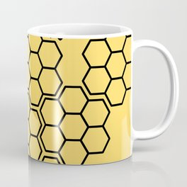 Trapped in the Comb Coffee Mug