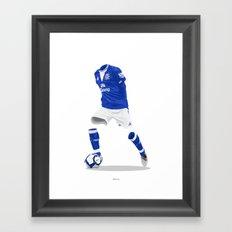 Everton 2009/10  Framed Art Print