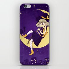 watching witch iPhone & iPod Skin