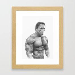 Arnold Schwarzenegger Framed Art Print