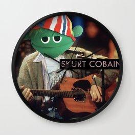 Skurt Cobain Wall Clock