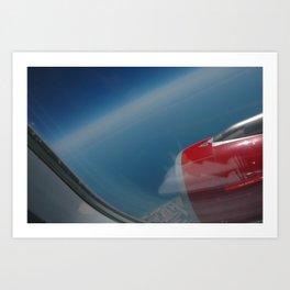 deep blue skies Art Print