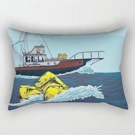Jaws: Orca Illustration Rectangular Pillow