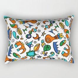 Mini amusons nous Rectangular Pillow