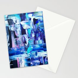 Blue. love through tired eyes Stationery Cards
