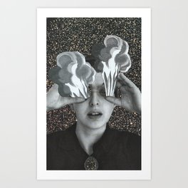 ...Burn Out.... Art Print