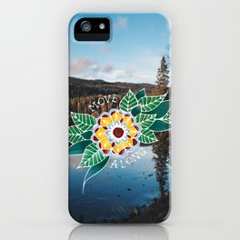 Move Along iPhone Case