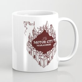 Motor City Marauders Logo Coffee Mug