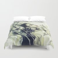 stag Duvet Covers featuring Stag by Anna Dittmann