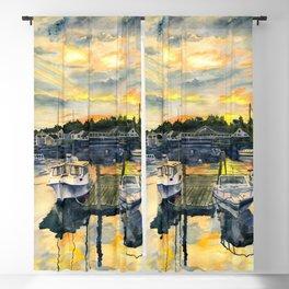 Rocktide Sunset Blackout Curtain
