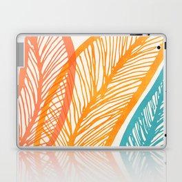 Tropical Flora - Retro Palette Laptop & iPad Skin