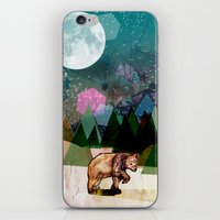 alone iPhone & iPod Skins featuring Alone by Jo Cheung Illustration