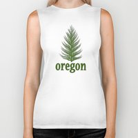 oregon Biker Tanks featuring Oregon by Julie