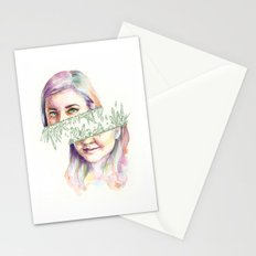 I Grow Crystals Stationery Cards