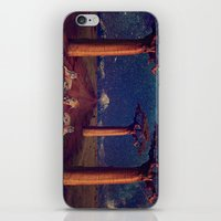 battlestar galactica iPhone & iPod Skins featuring Tiger Galactica  by Jordan Eppinette
