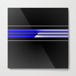 Team Colors 5...Blue Metal Print