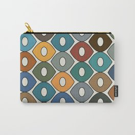 Colorful Fun Pattern Carry-All Pouch