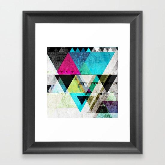 Graphic 4 X Framed Art Print