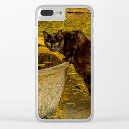 cool drink Clear iPhone Case