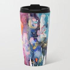 alive and walking (abstract) Metal Travel Mug