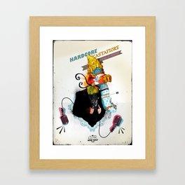 The Electric Weird Family #2 Framed Art Print