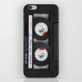 Mixtape: Love Songs iPhone Skin