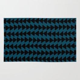 Blue Arrows Rug