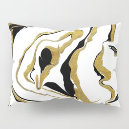 Gold And Black Opulence Pillow Sham