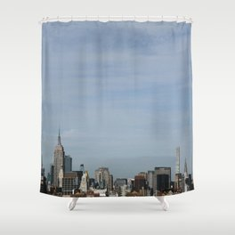 Concrete Jungle Shower Curtain