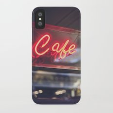 Camera Café Slim Case iPhone X
