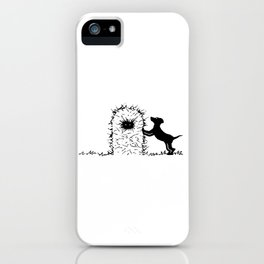 Hay Pup iPhone Case