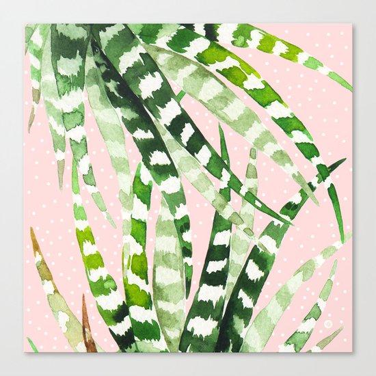 CACTUS WATERCOLOR 02 Canvas Print