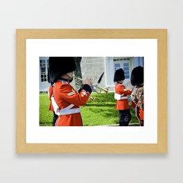 The Guard II Framed Art Print