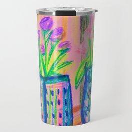 Flowers at Dawn Travel Mug