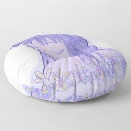 Flower Guey Floor Pillow