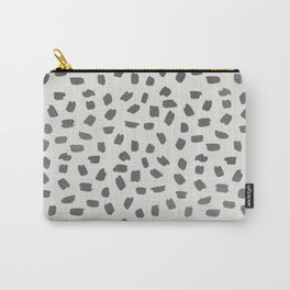 Simply Ink Splotch Green Tea on Lunar Gray Carry-All Pouch