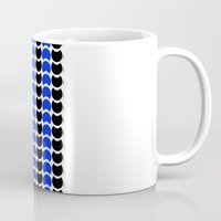 HobNob BlueBlack Print, Canvas and Laptop/iPad Skin Mug