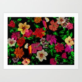 Exotica_01 Art Print
