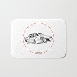 Crazy Car Art 0220 Bath Mat