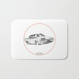 Crazy Car Art 0220 Bath Mat