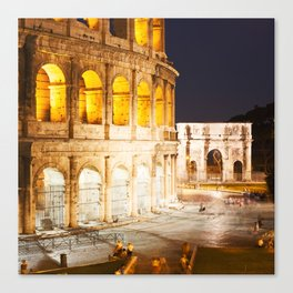 In Rome do as the Romans do Canvas Print